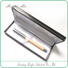 2015 Luxury senior gift pen set/wood roller pen for business gift with box
