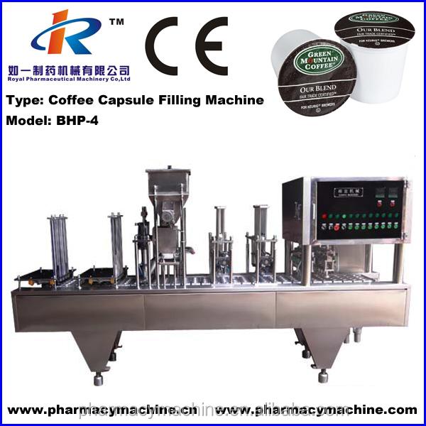 BHP-4 Automatic Nespresso Coffee Capsule Filling Machine
