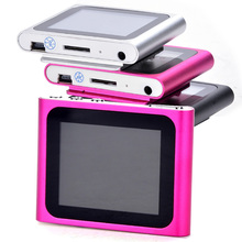 6th Gen 1.8inch LCD FM Radio Video Mp3 Mp4 Player