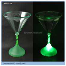 From Barlight LED Martini Glass Flashing LED Glass For Thanksgiving Day