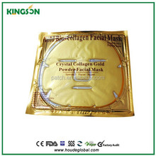 high quality gold collagen crystal facial mask beauty line