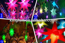 LED light inflatable star for party and festival