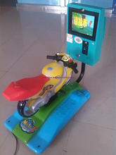 coin operated amusement crazy motorcycle simulator children electronic games