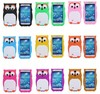 For Galaxy S4 Silicone Case, Lovely 3D Owl Pattern Soft Back Cover Case for Samsung Galaxy S4 i9500