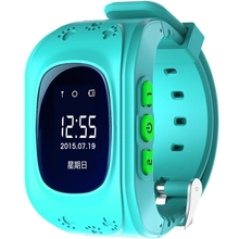SOS button Smart online children GPS wrist watch