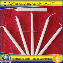 Wholesale paraffin candle wax/plain white candles -Daisy 8613126126515