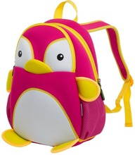 Alibaba golden supplier neoprene kids backpacks cute animals fashional style