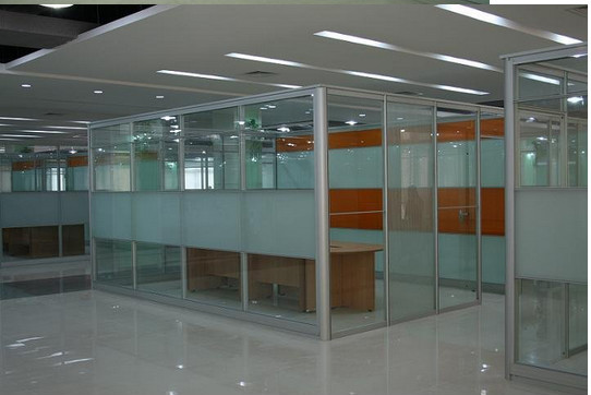 Soundproof Glass Interior Doors Frosted Glass Interior Doors Removable Office Partition Walls