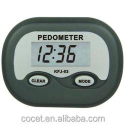 2015 COCET KFJ-03 multifictional smart silicone wristband calories pedometer