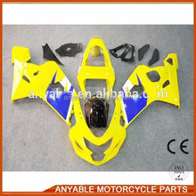 Aftermarket Factory fairing fit for SUZUKI GSXR600 750 2004 2005 motorcycle spare parts
