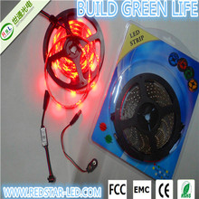 factory price i p 68 magic waterproof 4.8 w/m led strip light for clothes