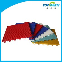 SGS certificated modular synthetic tennis court flooring