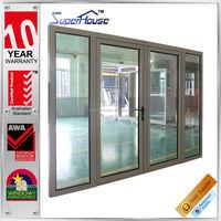 Australia AS2047 Standard commercial aluminum luxury restaurant entrance doors design