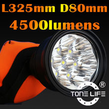 4500 Lumens Led Torch Flashing Light Led Hunting Lamp Hiking/Camping Torch