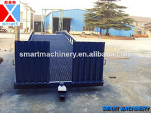 10t carretilla elevadora hidráulica de camiones de carga rampas para remolques