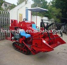 China famous mini rice wheat paddy combine harvester/mini grain harvester combine/0086-13733199089