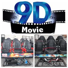 2015 Canton Fair best selling motion 9d cinema