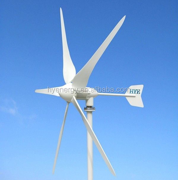 Dc Motor Wind Turbine Small 1kw Wind Turbine Generator