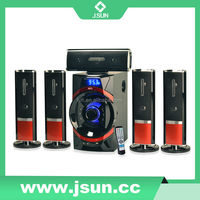 Home theater optical input with USB,SD,FM, Bluetooth function