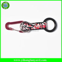 customize carabiner lanyard with safety breakaway clip