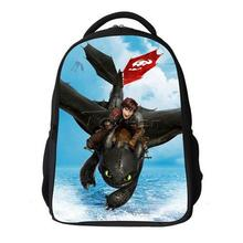 Hot Cartoon How to Train Your Dragon school bag Backpack Shoulder Bags for children