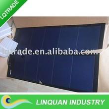 33W Flexible Amorphous silicon solar panel/1410*394*4mm Peel and Stick