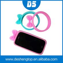 Universal de silicona caso de parachoques para Todos Smartphone, regalo de Navidad universal de Parachoques silicona caso