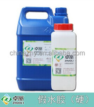 Liquid transparent epoxy resin AB glue 3:1 doming resin compound for stickers, graphics, decorations, promotional gifts