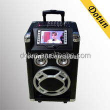 Outdoor Boombox Speaker Subwoofer Guitar Amplifier with DVD Player