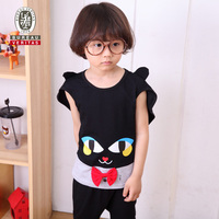 Boys clothing 2012 alive cat cosplay kids clothes for branded children