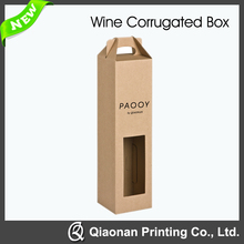 1 Bottle Corrugated Paper Box for Wine