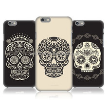 Creative skull cell phone case for iphone 6 custom for iphone case