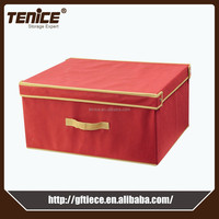 Tenice new scarf makeup nonwoven collapsible toy storage box