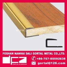 Aluminum Step edge protection tile wood trims export to Canada/Italy/Australia/Europe
