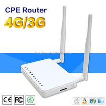 2 External Antennas Ethernet SIM Card 2G 3G 4G Wifi Router