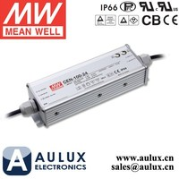 Mean Well CEN-100-42 Single Output LED Power Supply 100W 42V 2.28A PFC Function Aluminum Case