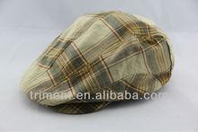 Fashion wool grid ivy hat