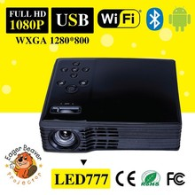 Top quality Full Hd Led Multimedia Android 4.2 .2 Micro Mobile phone Projector Wifi and bluetooth Projector