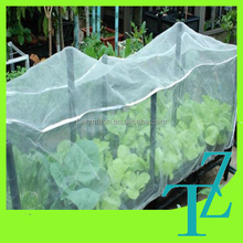 2015 new designed transparent plastic insect mesh covers,mesh plant covers