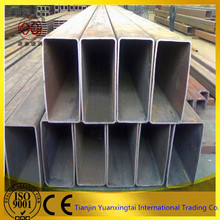 Construction material thick wall welded rectangular steel tube