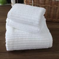 Pinzon 100% Organic Egyptian Cotton 6-Piece Towel Set, white Color