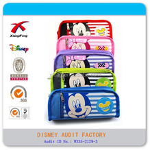 Micky Design Canvas Material School Pencil Case,Kids Cartoon Pencil Pounch, Pen Bag