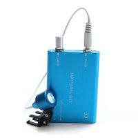 Dental LED Headlight blue head Lamp optional binocular surgical loupes with low price