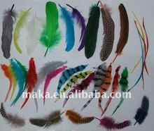 wholesale syntetic top feather flower hair accessories/feather hair extensions bulk