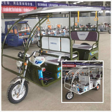 adult electric tricycle/ rickshaw with passenger seat