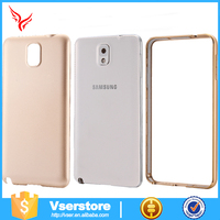 Factory Popular fashion aluminum metal bumper back cover Phone Case for Samsung galaxy note 2 phone case cover
