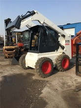 Used Steer Skid small loader Bobcat S175