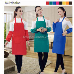Promotion cooking apron, custom kids/adult apron, multifunction BBQ cotton apron
