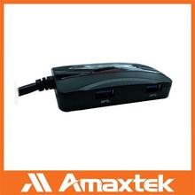 Amaxtek OEM 4-Port USB Hub / Wholesale USB3.0 Hub/ High Quality Custom USB Hub