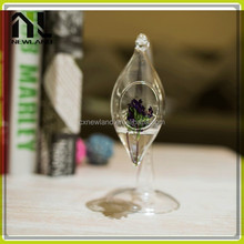 Grape shape factory direct home party chinese glass vase decoration glass